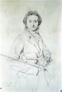 Portrait of Paganini Ingres