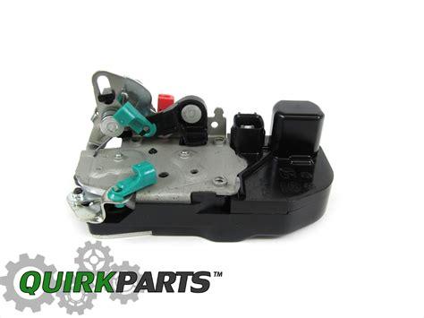 98 03 dodge durango 00 04 dakota rear left power door lock latch actuator mopar ebay