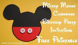 mickey mouse free stencils clipartsco With mickey mouse clubhouse letter stencils