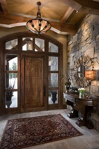 15, Inviting, Rustic, Entry, Designs, For, This, Winter