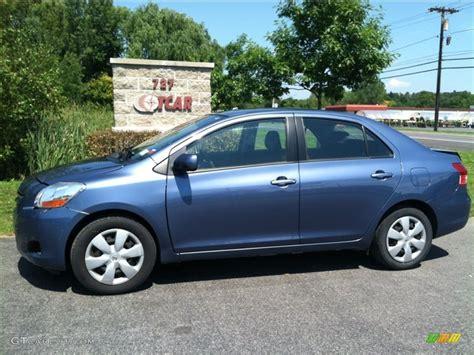 2008 Pacific Blue Metallic Toyota Yaris Sedan #68889929