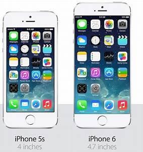 Comparatif Iphone 6 Et Se : iphone 5s vs iphone 6 lequel choisir ~ Medecine-chirurgie-esthetiques.com Avis de Voitures