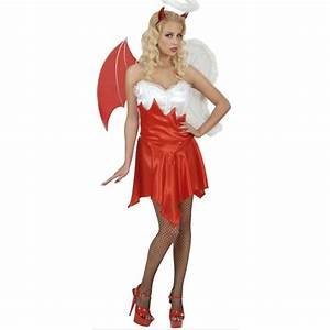 Halloween Kostüm Auf Rechnung : engel und teufel kost m f r damen ~ Themetempest.com Abrechnung