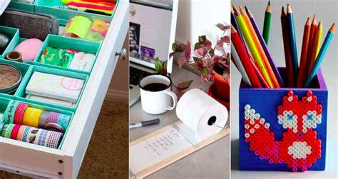bien organiser bureau 20 objets à bricoler pour bien organiser votre bureau