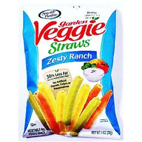 garden veggie straws sensible portions garden veggie straws zesty ranch