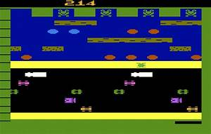 Game review: Parker Brothers Frogger for #Atari 2600