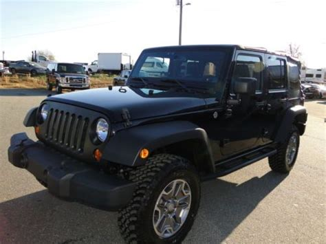 wrecked jeep purchase used 2013 jeep wrangler rubicon 4wd rebuilt