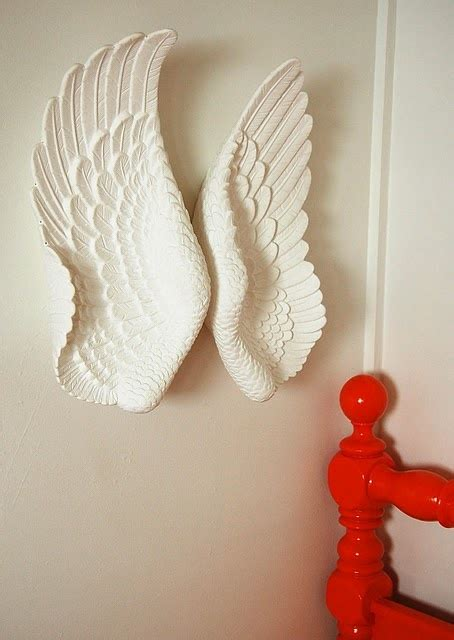 wings      sculpt   styrofoam  plaster