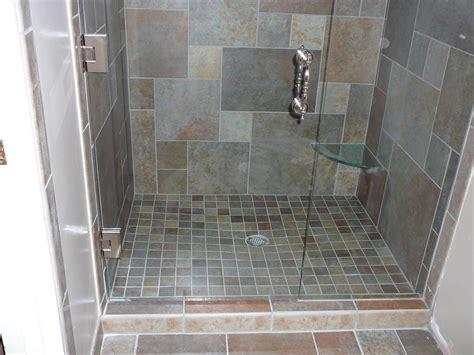 grey contemporary bathroom   drop  tub  alcove
