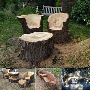 diy tree trunk furniture pictures photos and images for