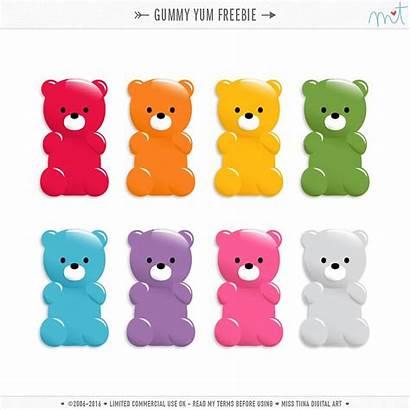 Gummy Doodle Cu Bear Bears Vectors Yum