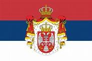 Kingdom of Serbia | Serbia flag, Serbian flag, Historical ...