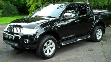 mitsubishi warrior l200 mitsubishi l200 2 5 di d warrior automatic lb 2010 10 no