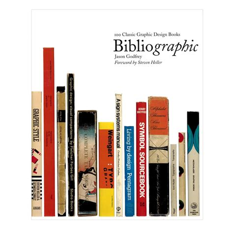graphic design books bibliographic 100 classic graphic design books