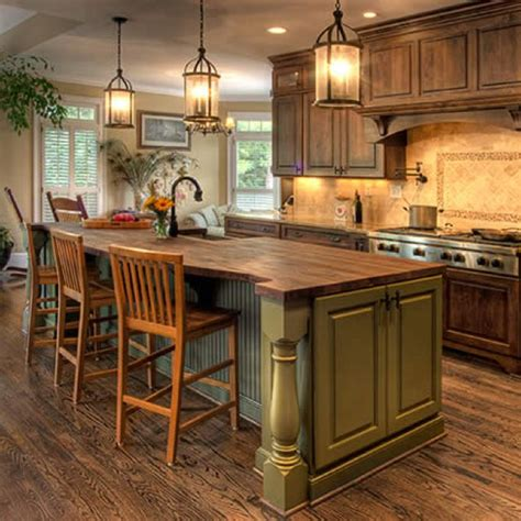 country kitchen island designs 25 best ideas about green country kitchen on