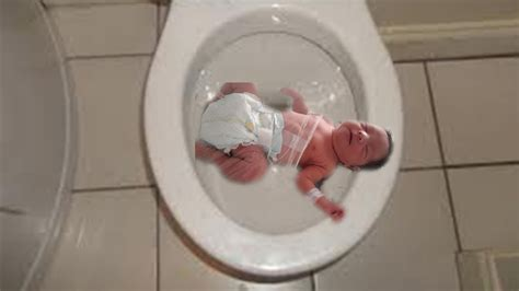 pregnant from a toilet seat baby born in toilet amazing birth youtube