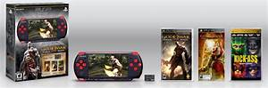 God Of War Ghost Of Sparta PSP Bundle Offers Red And