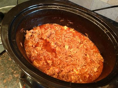 crock pot bbq pulled pork food
