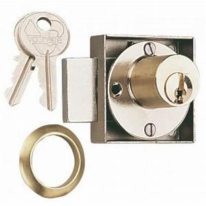 Serrure De Meuble : serrure de meuble cylindre 5064 vachette bricozor ~ Melissatoandfro.com Idées de Décoration