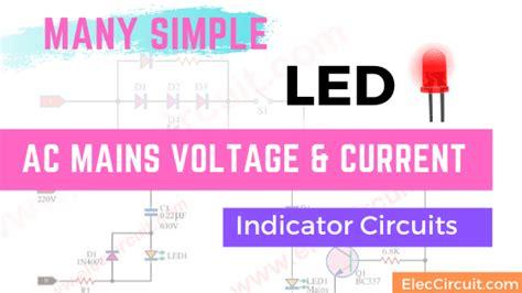 Mains Voltage Indicator Circuit Eleccircuit