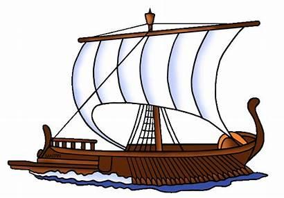 Greek Ancient Greece Ship Clip Clipart Ships