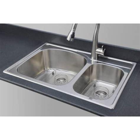 18 kitchen sinks stainless steel sinkware 18 bowl topmount stainless 8967