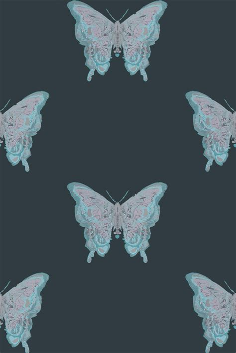 timorous beasties wallcoverings butterfly hand printed