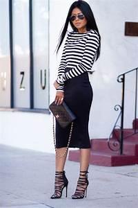 How To Wear Pencil Skirts u2013 Combination Ideas 2018   FashionGum.com