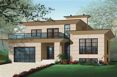 contemporary one house plans 4 bedrm 3198 sq ft contemporary house plan 126 1012
