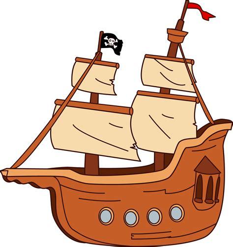 Ship Cartoon by Pirate Ship Design Free Clip Art