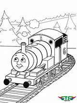Thomas Coloring Train Tank Engine January Tsgos sketch template