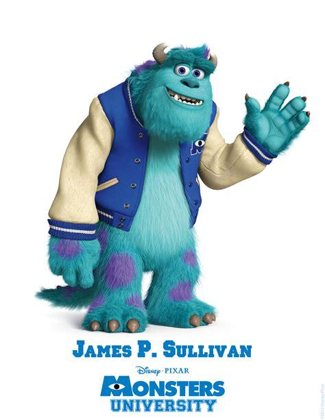 Los Personajes De Monsters University Cinergetica