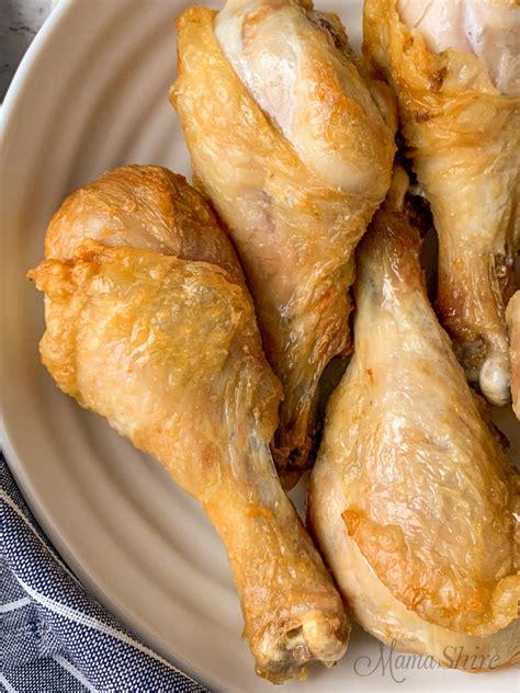 chicken legs fryer air recipe easy keto gluten fried skin mamashire without crispy breading