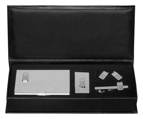 Cellphone Business Card Case, Money Clip, Cufflinks & Tie