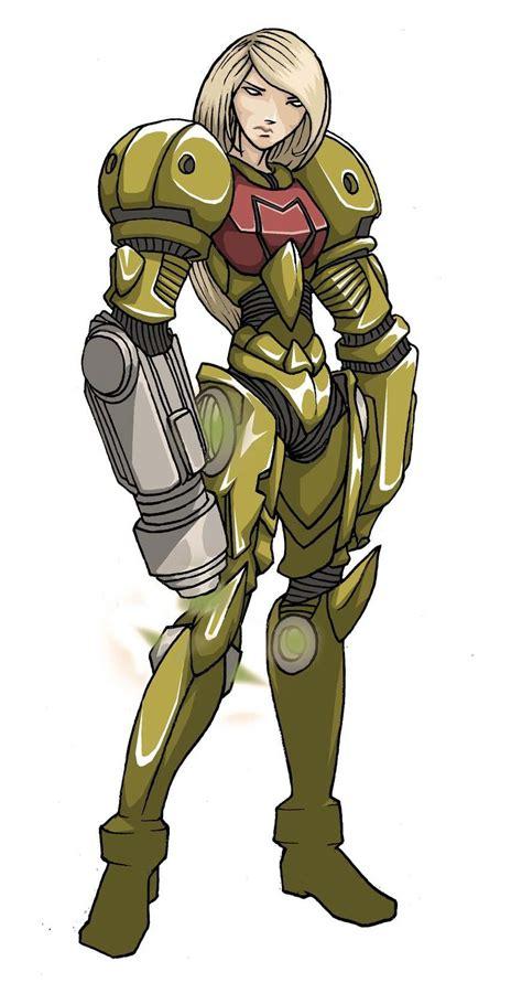Samus Aran Metroid Fan Art By Spoon02