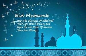 42+ Eid Mubarak Wishes, Quotes in English & Greeting Cards ...