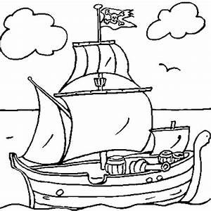 Destockage Petit Bateau En Ligne : coloriage bateau pirate en ligne gratuit imprimer ~ Dailycaller-alerts.com Idées de Décoration