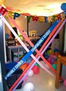 1000 images about fice party cubicle bday decor on