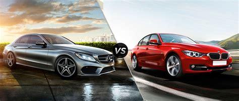 2015 Mercedesbenz Cclass Vs 2015 Bmw 3series