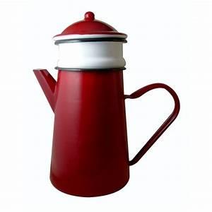 Cafetiere A L Ancienne : cafeti re avec filtre en m tal maill rouge 1 5 l ~ Premium-room.com Idées de Décoration