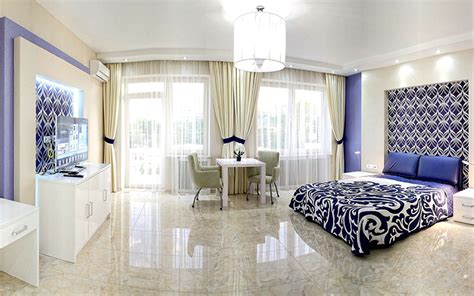Дизайн интерьера большой спальни