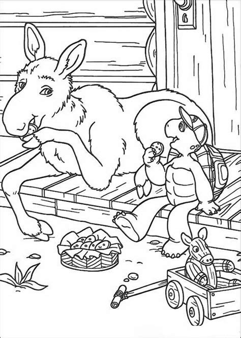kids  funcom  coloring pages  franklin