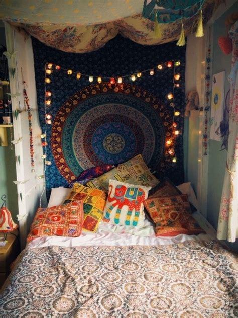 déco chambre hippie