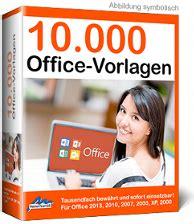 10000 OfficeVorlagen