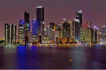 Skyline Miami Brickell Skyrisecities Cityscape Fl York