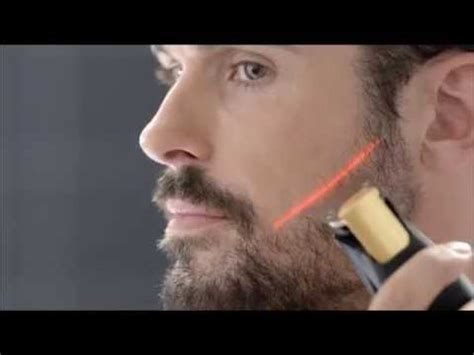 philips laser beard trimmer tv youtube