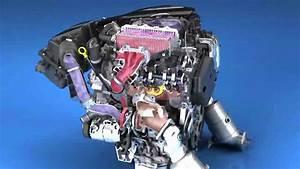 Cadillac Ct6 Twin-turbo 3 0-liter V6 Engine Animation