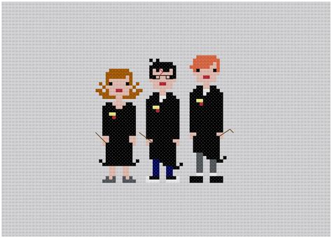 I Want All These Cool 8-bit Cross-stitches