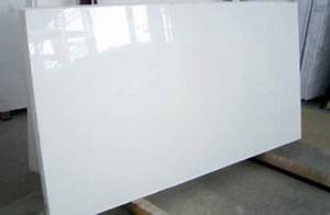 Super White Crystallized Glass Panel /nano Glass / None ...