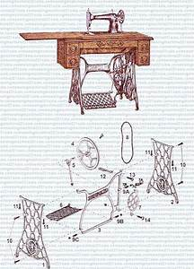 Diagram Of A Singer Treadle Machine
